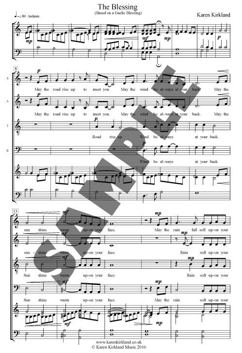 Sheets Music and CDs - Karen Kirkland Shropshire based composer