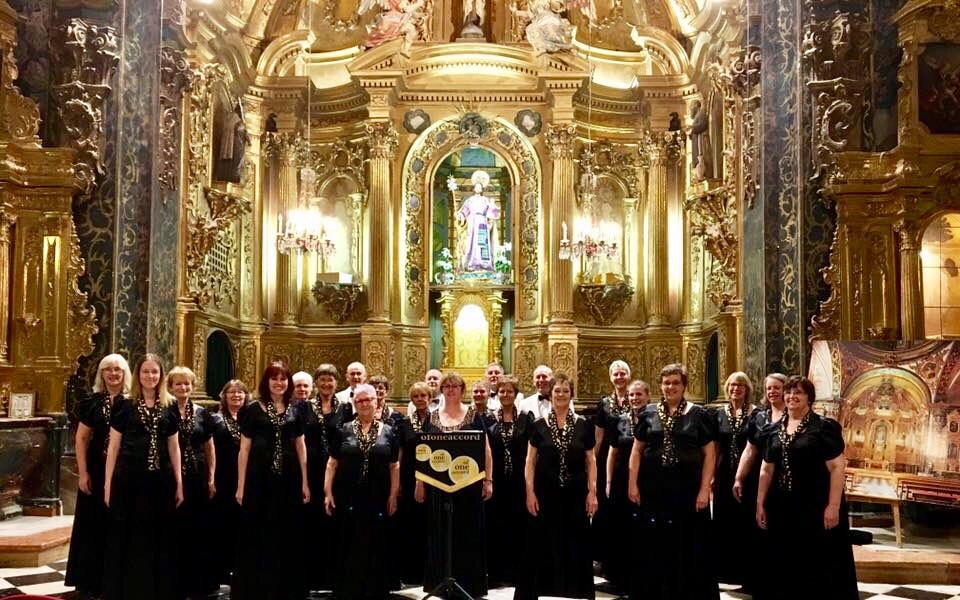 Successful tour to Spain with Of One Accord Choir