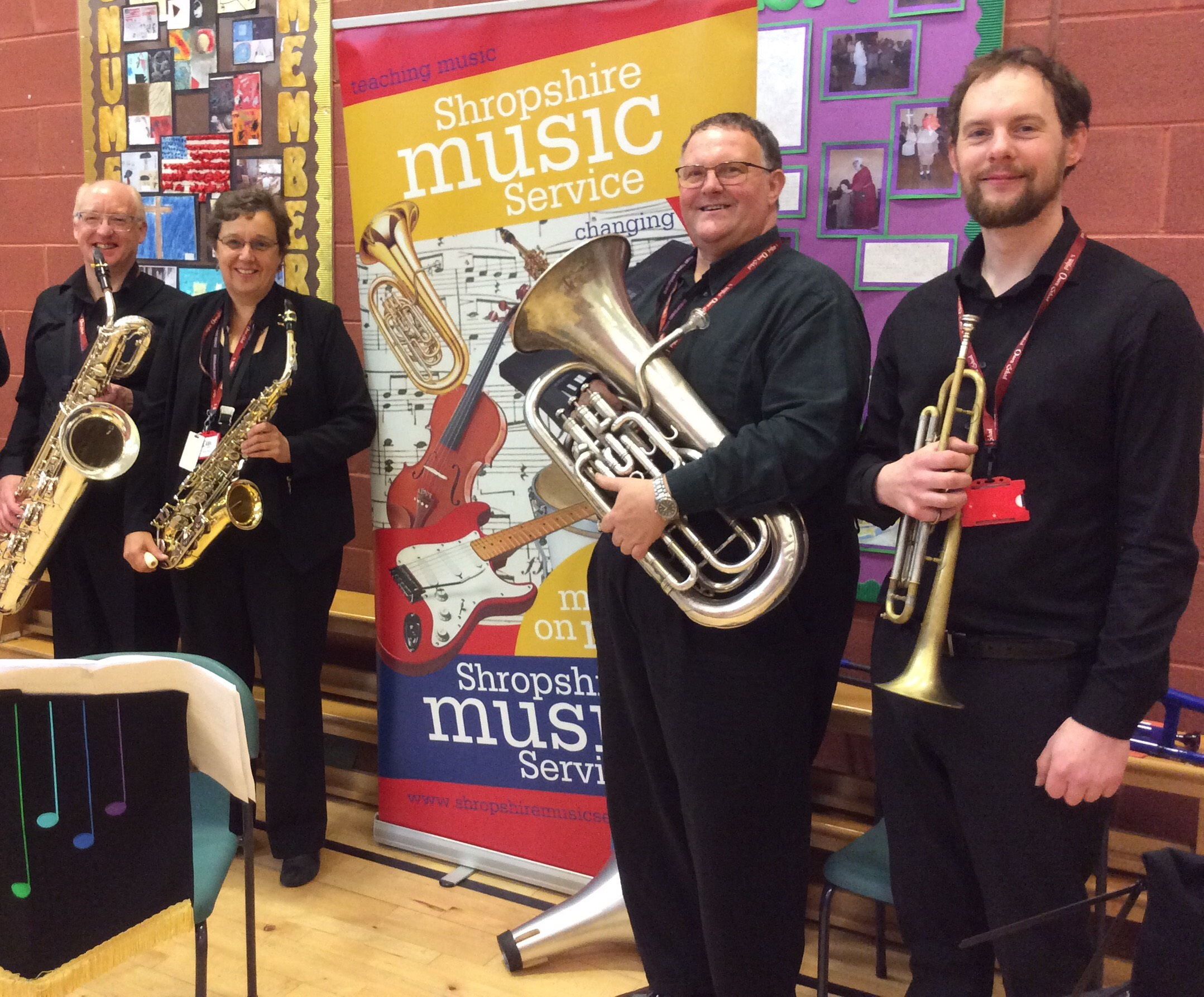 Live Music Week with Shropshire Music Service