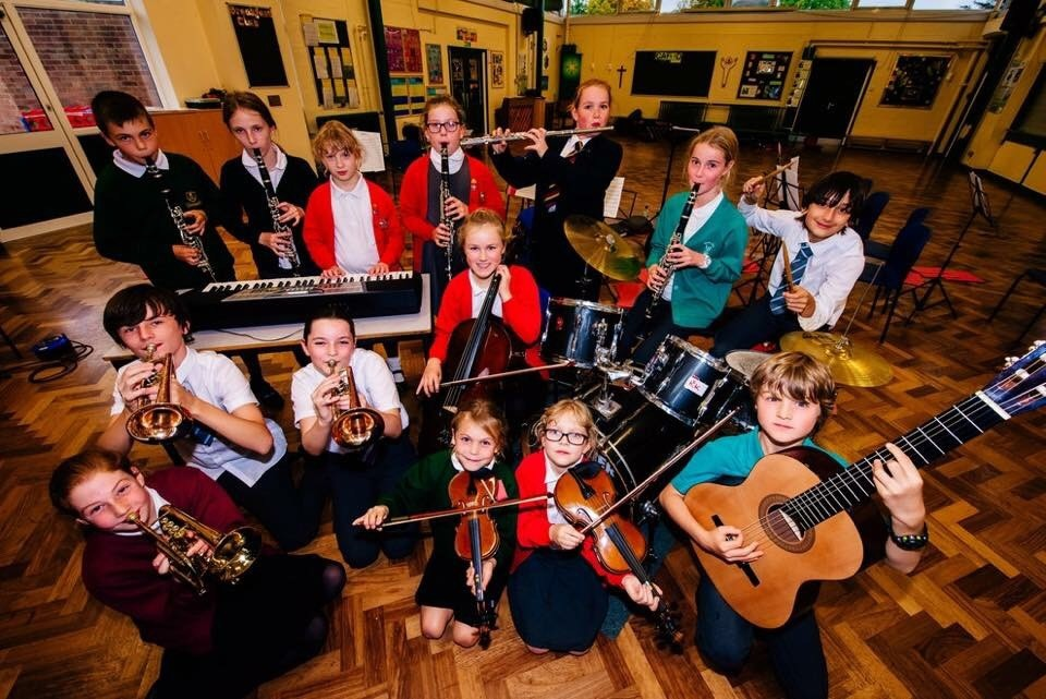 Bridgnorth child orchestra hitting the right note